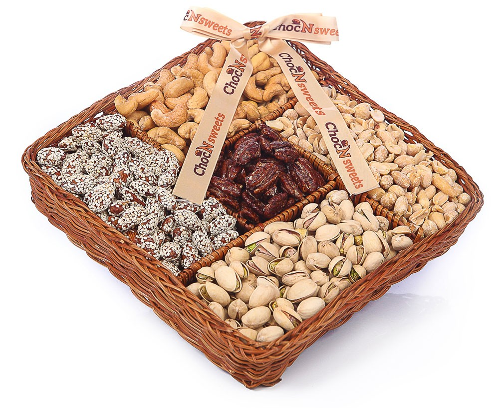 Deluxe Nut Lovers Basket