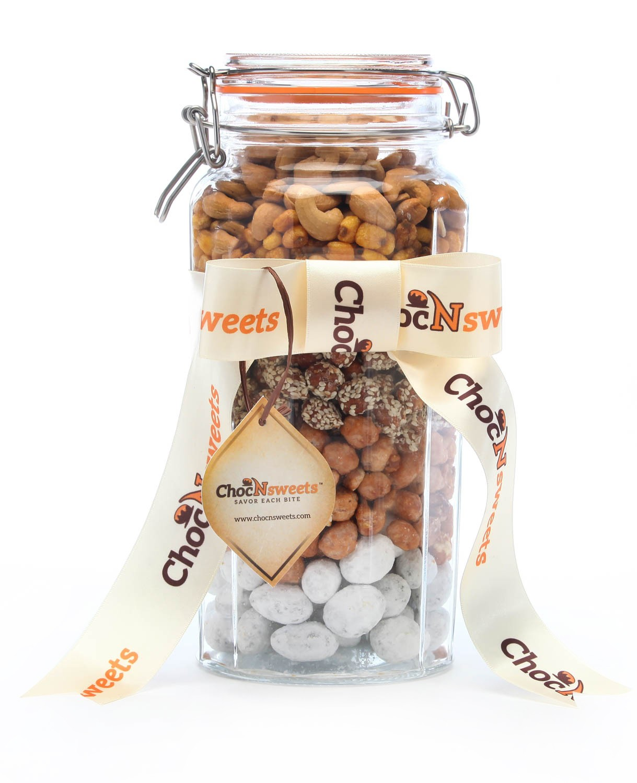 Jar of Classic Nut Favorites